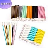 300Pcs Disposable Lipstick Wands Lip Brush Lip Gloss Wands Cosmetic Makeup Beauty Tool Kits