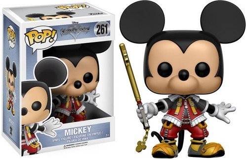 Funko POP Disney: Kingdom Hearts Mickey Toy Figures, New, Fr
