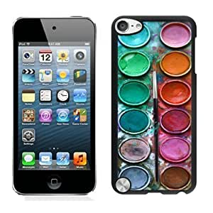 best gifts Watercolor Sets Witeh Brushes iPod touch 5 Case Black Cover 3