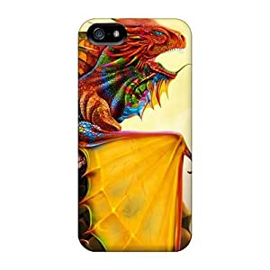 For Case Samsung Galaxy Note 2 N7100 Cover Phone Cases Covers(rainbow Dragon)