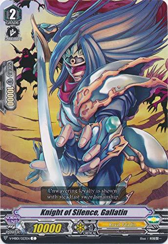 Cardfight!! Vanguard - Knight of Silence, Gallatin - V-MB01/023EN - C - Foil - V Mini Booster 01: PSYqualia Strife