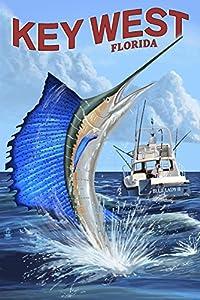 Key West, Florida - Sailfish Deep Sea Fishing