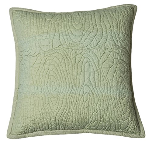 - Be-You-tiful Home Barke Pillow Sham, Euro, Sage