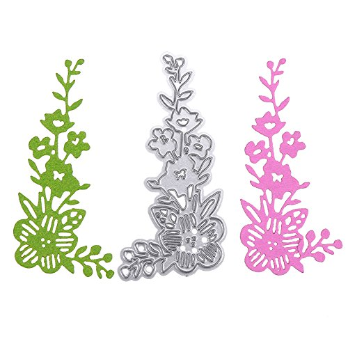 callm Cutting Die,Snowflake Scrapbooking Tools,Cutting Stencils Kits Carbon Steel Lace Style Embossing Cutting Dies Stencils Templates Mould for DIY Scrapbooking Album Paper Card (B)