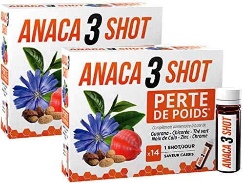 Anaca 3 Shot Gewichtsverlust, 14 Stück, 2 Stück