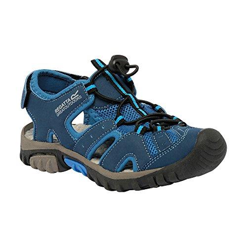 Regatta Deckside Jnr - Zapatillas de running Niñas Azul Wing/Petrol