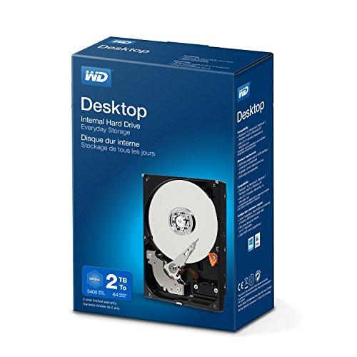 Western Digital WDBH2D0020HNC - Disco duro interno de 2 TB, color negro[modelo aleatorio Green/Blue]