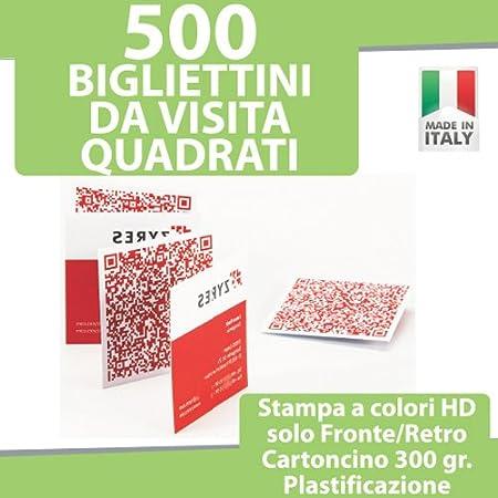 500 Visitenkarten Quadratische Karten Und Druckmodi A
