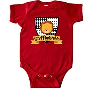 inktastic Gryffindorable Crest with Lion Head Infant Creeper 12 Months Red