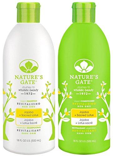 Nature's Gate Jojoba Revitalizing, Duo Set Shampoo + Conditi
