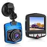 Dash Cam,Ssontong Mini Car Dashboard Camera, Full HD 1080P 2.31Screen 140 Degree Wide Angle Lens Vehicle On-dash Video Recorder with Night Vision, G-Sensor, Parking Monitoring, Loop Recording(blue)