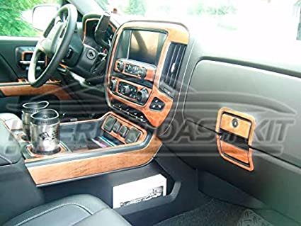 Amazon Com Chevy Chevrolet Silverado Ltz Z71 Interior Burl Wood