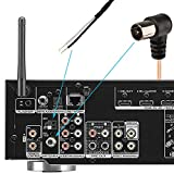 Bingfu FM Antenna FM Dipole Antenna 75 Ohm Indoor