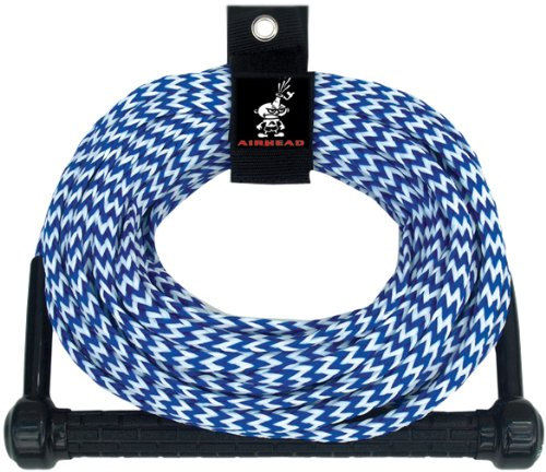 AIRHEAD Ski Rope, Tractor-Grip Handle, 1 Section (Tow Water Rope Ski)
