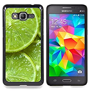 For Samsung Galaxy Grand Prime SM-G530F G530FZ G530Y G530H G530FZ/DS , Verde Agrios Naturaleza Vibrante - Diseño Patrón Teléfono Caso Cubierta Case Bumper Duro Protección Case Cover Funda