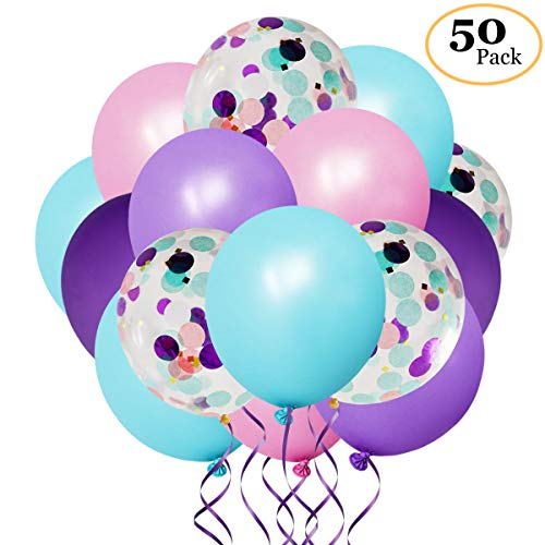 confetti balloons blue and purple buyer's guide
