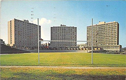 Nickerson Field and Dormitories at Boston University Boston Massachusetts Postcard