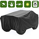RockyMRanger ATV COVER Universal Quad Storage Protection Waterproof For Honda Polaris Yamaha Suzuki YABTV-1