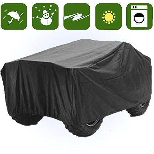 Waterproof Atv Cover - RockyMRanger ATV COVER Universal Quad Storage Protection Waterproof For Honda Polaris Yamaha Suzuki YABTV-1