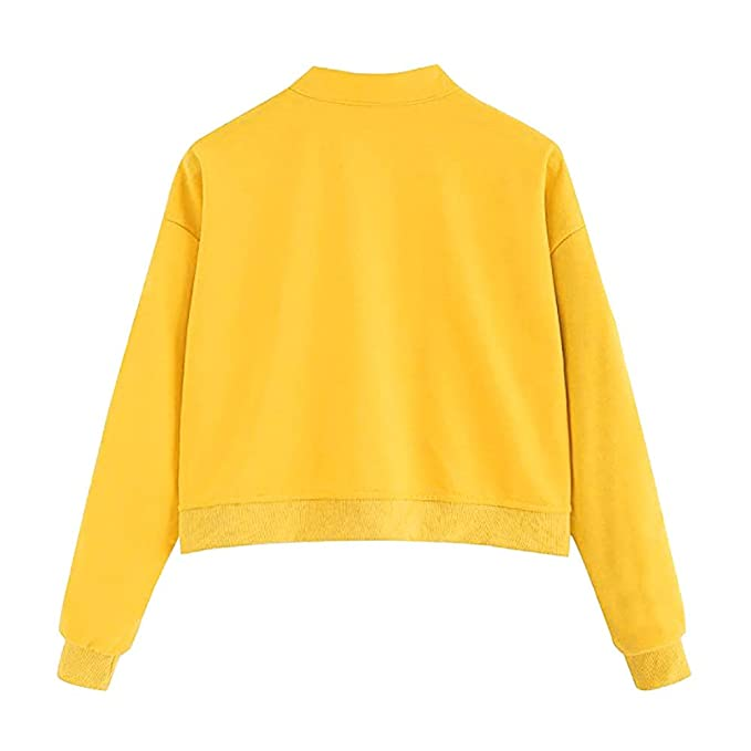 Amazon.com: HYIRI 2018NEW Long Sleeve Sweatshirt,Fashion Casual Womens Jumper Pullover Strapless Blouse: Clothing
