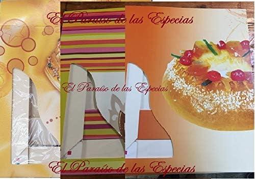 Extra Grande Caja para Roscón de Reyes 10 Unidades 40 cm x 40 cm ...