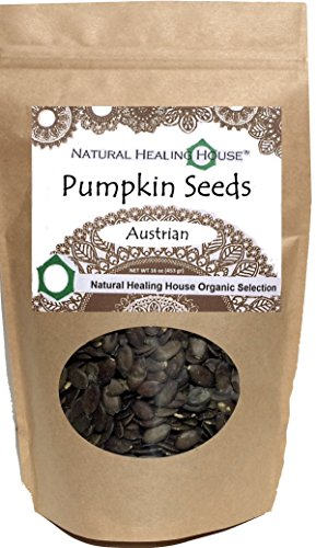 Healing Seed (Natural Healing House Organic Raw Austrian Pumpkin Seeds 16 oz)