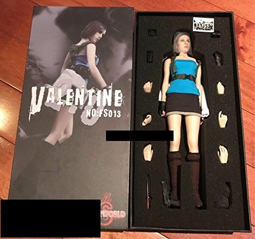 Jill Valentine Action Figure Resident Evil Wesker Sheva FS013