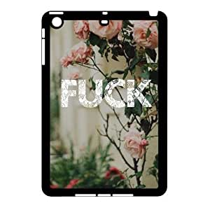 wugdiy Customized Cell Phone Case Cover for iPad Mini with DIY Design Fuck