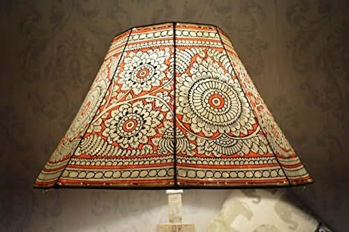 Amazon Com Mandala Large Floor Lampshade Leather Floral