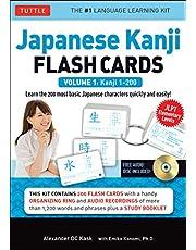 Kask, A: Japanese Kanji Flash Cards Kit Volume 1