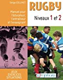 img - for Rugby Niveaux 1 et 2 (French Edition) book / textbook / text book