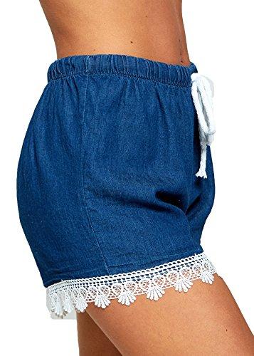 Blue Pantaloncini Dark Pantaloncini biHo® Dark Blue biHo® Donna biHo® Pantaloncini Dark Donna Donna Pantaloncini biHo® Blue Swx5ggA