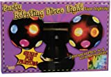 Forum Novelties Twin Rotating Multi Color Disco Ball Party Lights