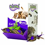 OurPets Basket Case Bulk Bin, Natural Cat Toy (48 piece)