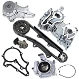 """TK2010TCWPOP Brand New (98 LINKS - DOUBLE ROW) Timing Chain Kit + Timing Cover + Water Pump Set + Oil Pump Set for """"20R"""" """"22R"""""""