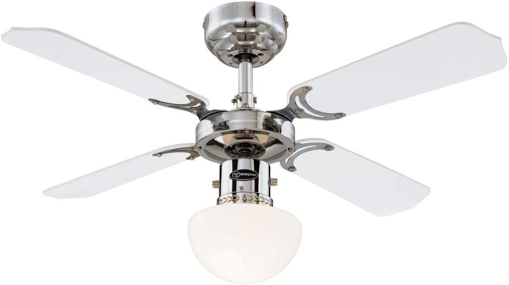 Westinghouse Lighting Portland Ambiance Ventilador de Techo E27 ...
