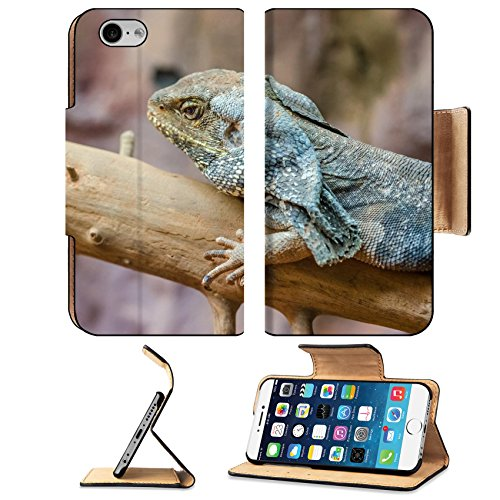MSD Premium Apple iPhone 6 iPhone 6S Flip Pu Leather Wallet Case Frilled Lizard IMAGE 20988032
