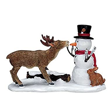 Lemax Village Collection Snack Time Snowman #72405