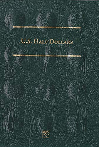 1839 Hard Cover U. S. Half Dollars 1839 to Date Littleton Folder LCFH – Archival Quality Empty by Littleton Custom Coin Folder (2001-2006) Album