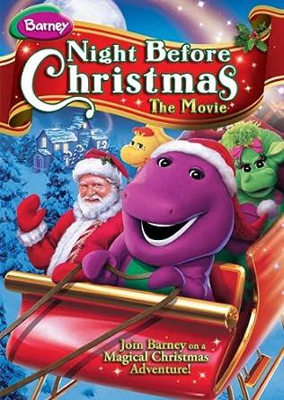 Barney A Very Merry Christmas The Movie Dvd.Amazon Com Barney Night Before Christmas Movies Tv