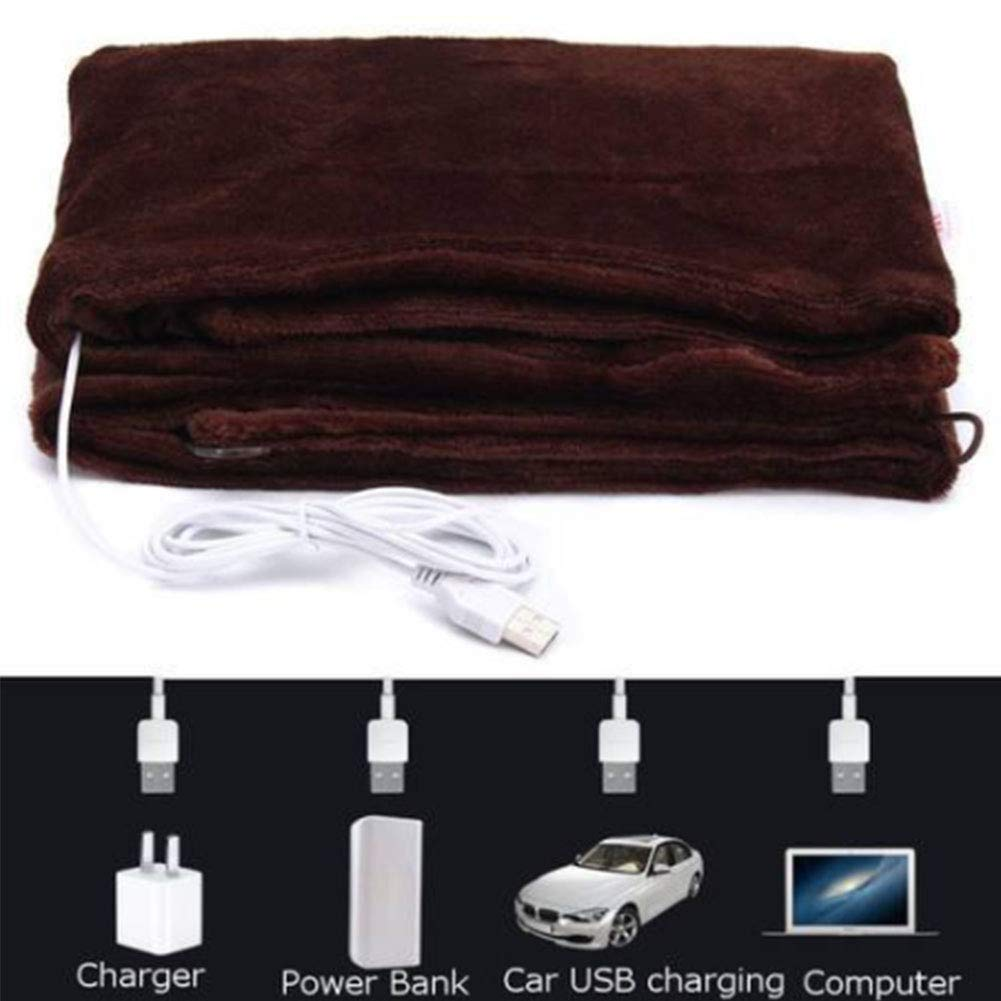 USB manta eléctrica calefacción mantón invierno calefacción ...
