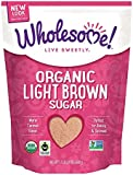 Wholesome Sweeteners, Organic Light Brown Sugar, 24 Oz