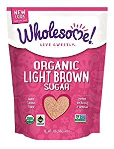 Wholesome Sweeteners, Organic Light Brown Sugar, 24 Ounce