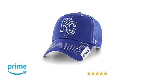 f7ba5a02 MLB Kansas City Royals Turner Clean Up Adjustable Hat, One Size, Royal