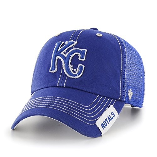 MLB Kansas City Royals Turner Clean Up Adjustable Hat, One Size, Royal