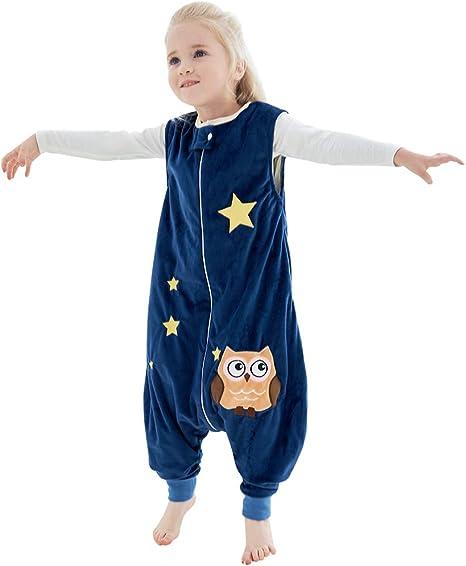MICHLEY Disfraz Animal Bebe Saco Dormir niño y niñapijama Ropa de Bebe Ideal para Entretiempo e Invierno,Azul 1-2 Jahre: Amazon.es: Ropa y accesorios