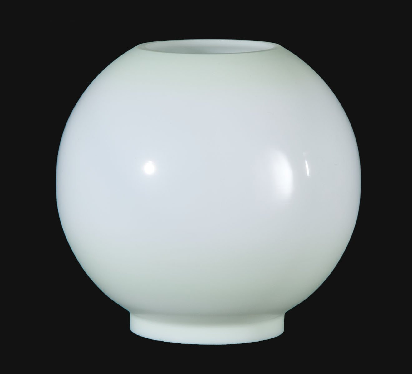 B&P Lamp Opal Glass Ball Shade, Celadon Tint by B&P Lamp