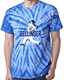 "The Silo TIE DIE BLUE Bellinger Los Angeles ""Air Pic"" T-Shirt"