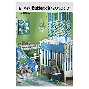 Butterick Patterns B4947 Infants' Room, One Size Only