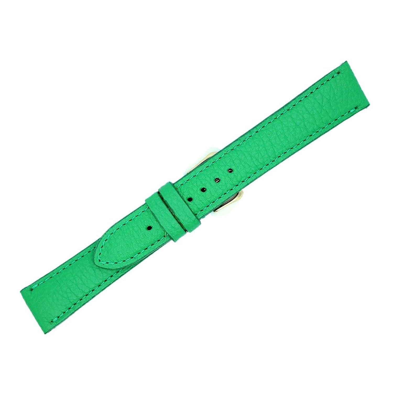 18 mm Green Genuineレザー交換用時計ストラップバンドMade in USA ws200  B06XDH18PF